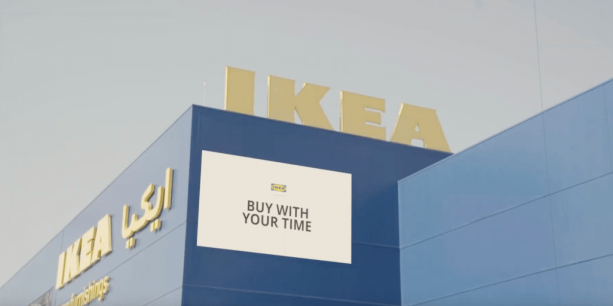 aliphbay-blog-In Dubai, IKEA converts travel time to the store… to cash